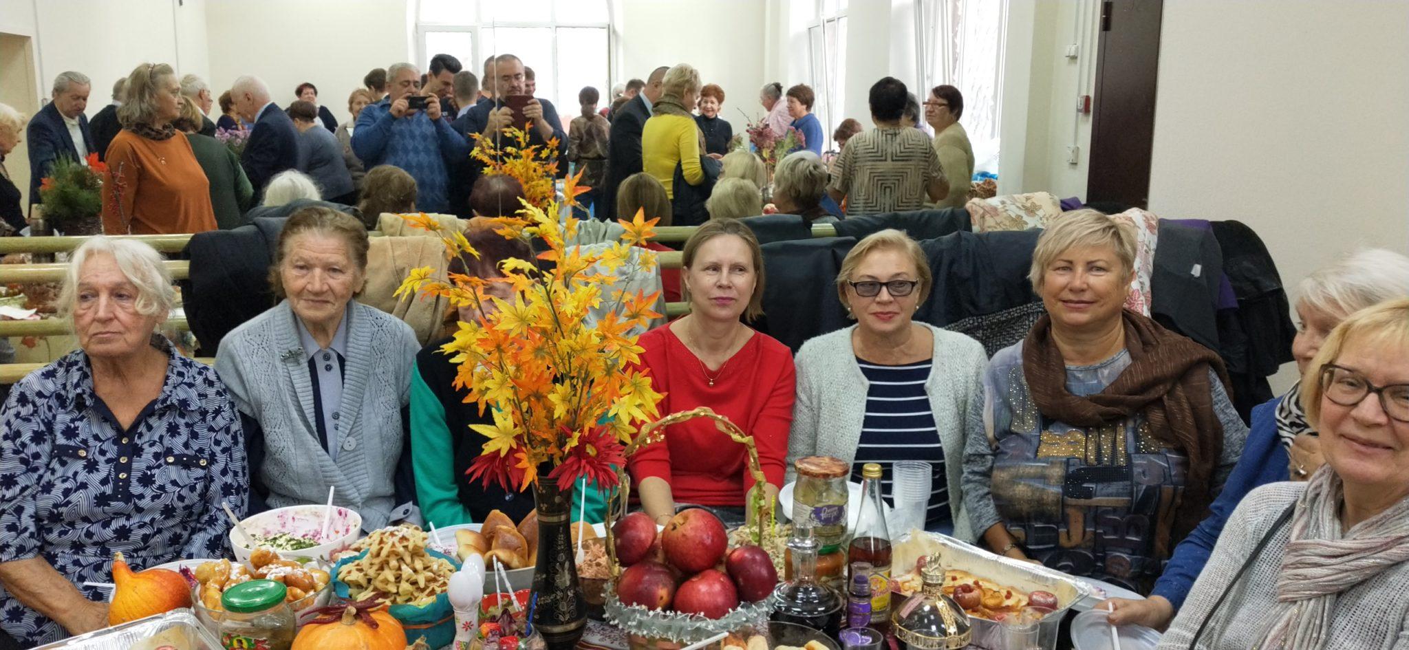 По традиции, 23 октября 2019 года«Кулинарный конкурс»