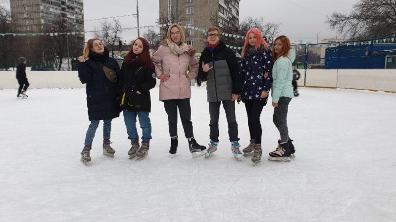 Весёлые игры на льду