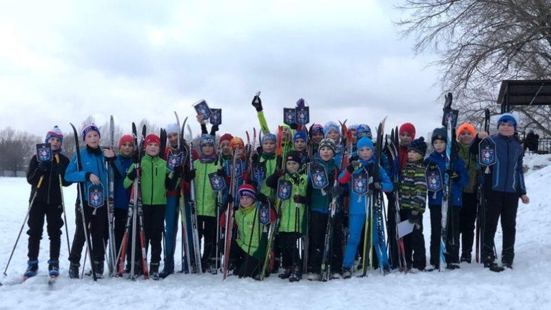 Лыжный забег