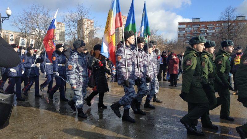 Митинг к 31 годовщине вывода советских войск из Афганистана