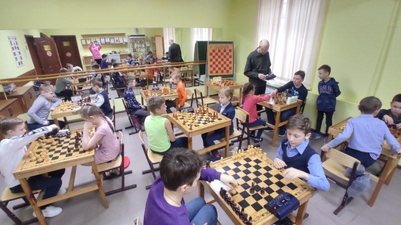 30 марта прошёл детский турнир по шахматам.