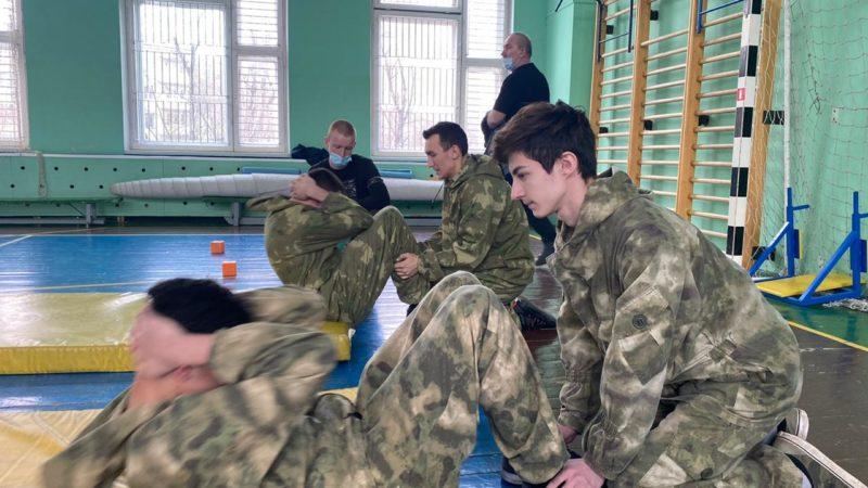 Соревнования по военно-прикладной подготовке.